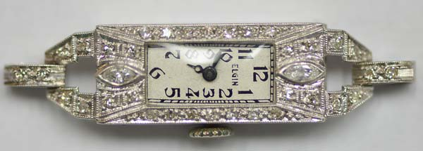 Elgin Diamond Watch