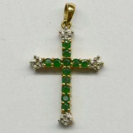 Emerald Crucifix