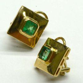Emerald Cufflinks